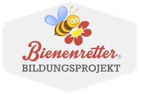 Logo Bienenretter Bildungsprojekt