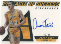 JERRY WEST / Pinnacle of Success - No. 21  (#d 42/49)