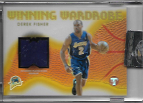 DEREK FISHER / Winning Wardrobe - No. WW-DF  (#d 20/25 - Refractor)