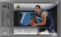 DERON WILLIAMS / Ultimate Game Jersey Patch - No. UJP-DW  (#d 13/20)
