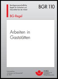 BG Regeln Arbeiten in Gaststätten