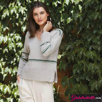 Laine-Katia-Cotton-Alpaca-Modèle N°6123-2