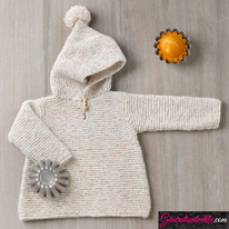 laine Katia collection Baby Tweed modèle N°6038-5