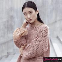 Laine-Katia-Mohair -Cotton-Modèle N°6185-12