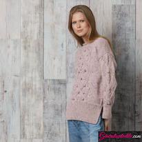 Laine Katia Merino Tweed Modèle N°6091-41