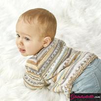 Laine Katia Baby Jacquard modèle N°6230-29