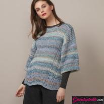 Laine-Katia-Cotton-Merino-Craft-Modèle N°6136-34