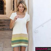 Laine Katia Fair Cotton Craft Modèle N°6122-59