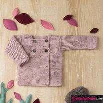 Laine Katia Merino Tweed Modèle N°6090-32