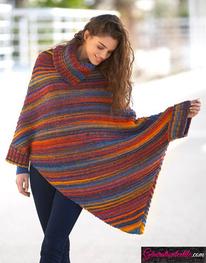 Modèle Laine Katia Azteca Milrayas Color N° 6000-8