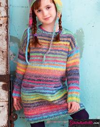 Modèle Laine Katia Azteca Milrayas Color N° 39