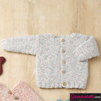 laine Katia collection Baby Tweed modèle N°6090-23