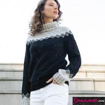 Laine Katia Merino Tweed Modèle N°6140-35