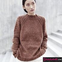 Laine-Katia-Cotton-Merino-Tweed-Modèle N°6185-11
