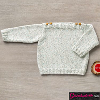laine Katia collection Baby Tweed modèle N°6038-13