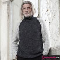 Laine-Katia-Cotton-Merino-Tweed-Modèle N°6185-37