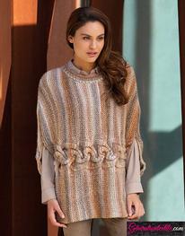 Modèle Laine Katia Azteca Milrayas Color N° 6001-6