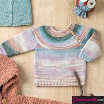 Laine Katia Merino Baby Plus Modèle N°6090-21