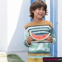 Laine Katia Menfis Color Modèle N° 6121-22