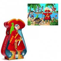 Silhouette Le pirate et son trésor- Djeco