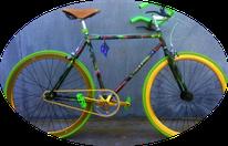camouflage bike