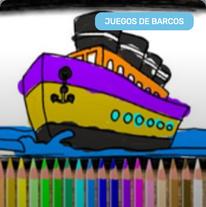Colorear Barcos online