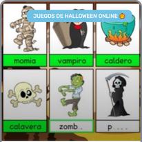 Lectoescritura de Halloween