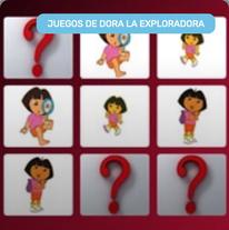 Memoria con Dora la Exploradora