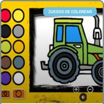 Colorear Tractores Online