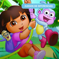 Encontrar Diferencias con Dora