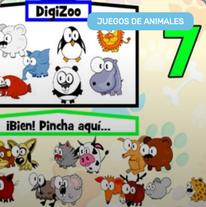 Aprender a Contar en el DigiZoo