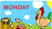 Number farm: días de la semana