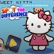 5 Diferencias Hello Kitty