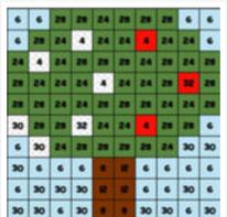 Colorear con Multiplicaciones