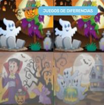 Diferencias en Dibujos de Halloween