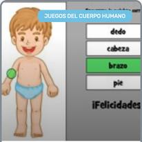 Cuerpo Humano para 4-5 Años