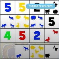 Contar hasta 5 con Colores