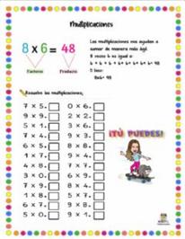 Multiplicaciones sencillas