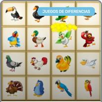 Encuentra el Pájaro diferente