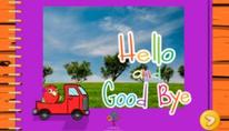 Hello and goodbye: Hola y adiós