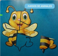 Puzzles Animales 5 Piezas