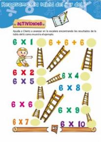 Repaso tablas 6 y 7