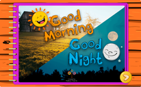 Buenos días y buenas noches