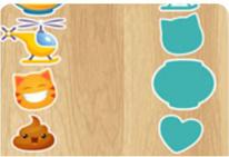 4 minijuegos de unir