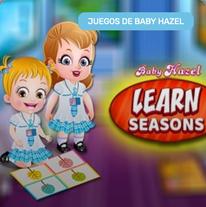 Aprender las estaciones con Baby Hazel