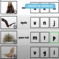 Iniciales de Nombres de Animales