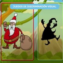 Sombras de Papá Noel
