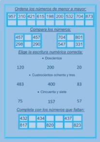 Números de tres cifras