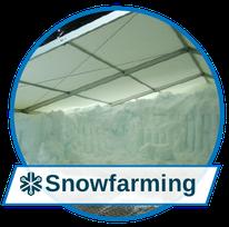 Passender Schnee für jeden Einsatz: Snowfarming & Schneedepots