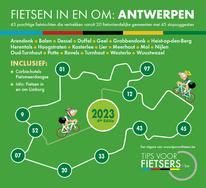 Tips voor Fietsers - Fietsen in en om Antwerpse Kempen 2021 - gratis fietsgids